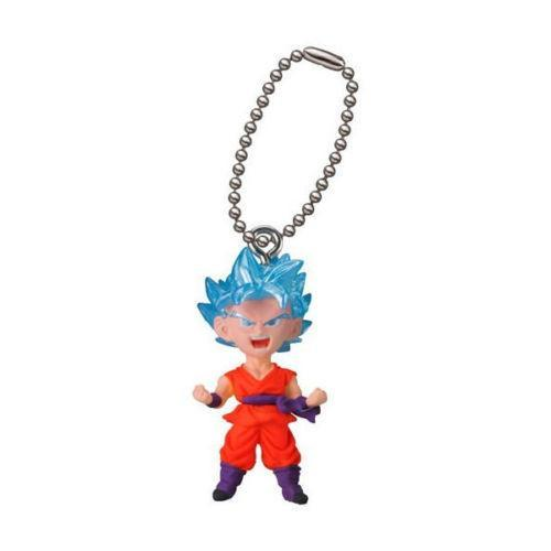SSGSS Goku Dragon Ball Super Figure Keychain