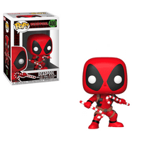 Funko POP Marvel: Holiday - Deadpool w/ Candy Canes