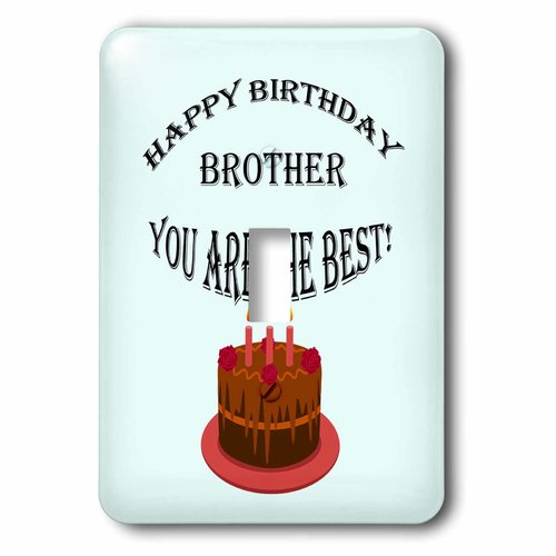 Image of: Relationship 3drose Happy Birthday Brother Blue Saying Quote Single Toggle Switch Walmartcom Happy Quotes Pictures Wallpapers 3drose Happy Birthday Brother Blue Saying Quote Single Toggle