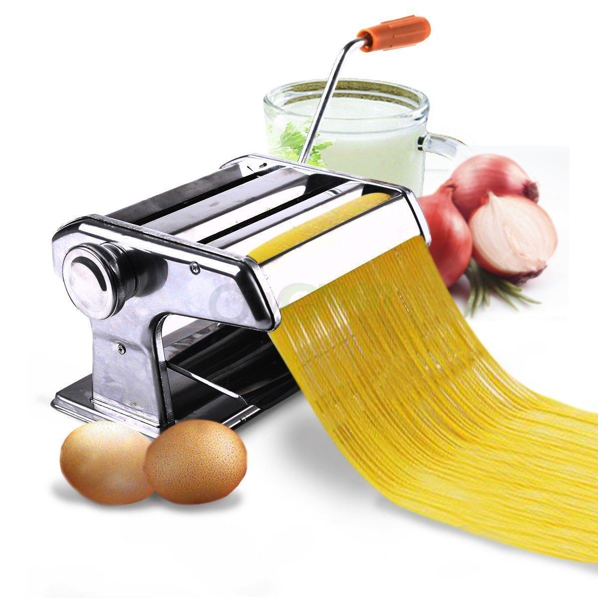 "Ktaxon 6"" Pasta Maker & Roller Machine Noodle Spaghetti & Fettuccine Maker Noodle Making Machine - image 8 of 8"