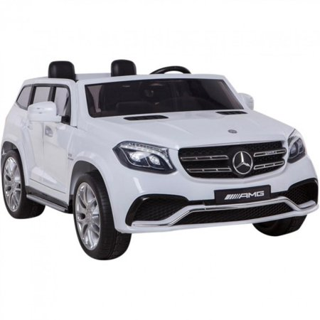 2x12v Limited Licensed Mercedes Benz Gls Series 2 Seater Kids Ride On Car Toy Suv Doors Music Lights Leather Remote
