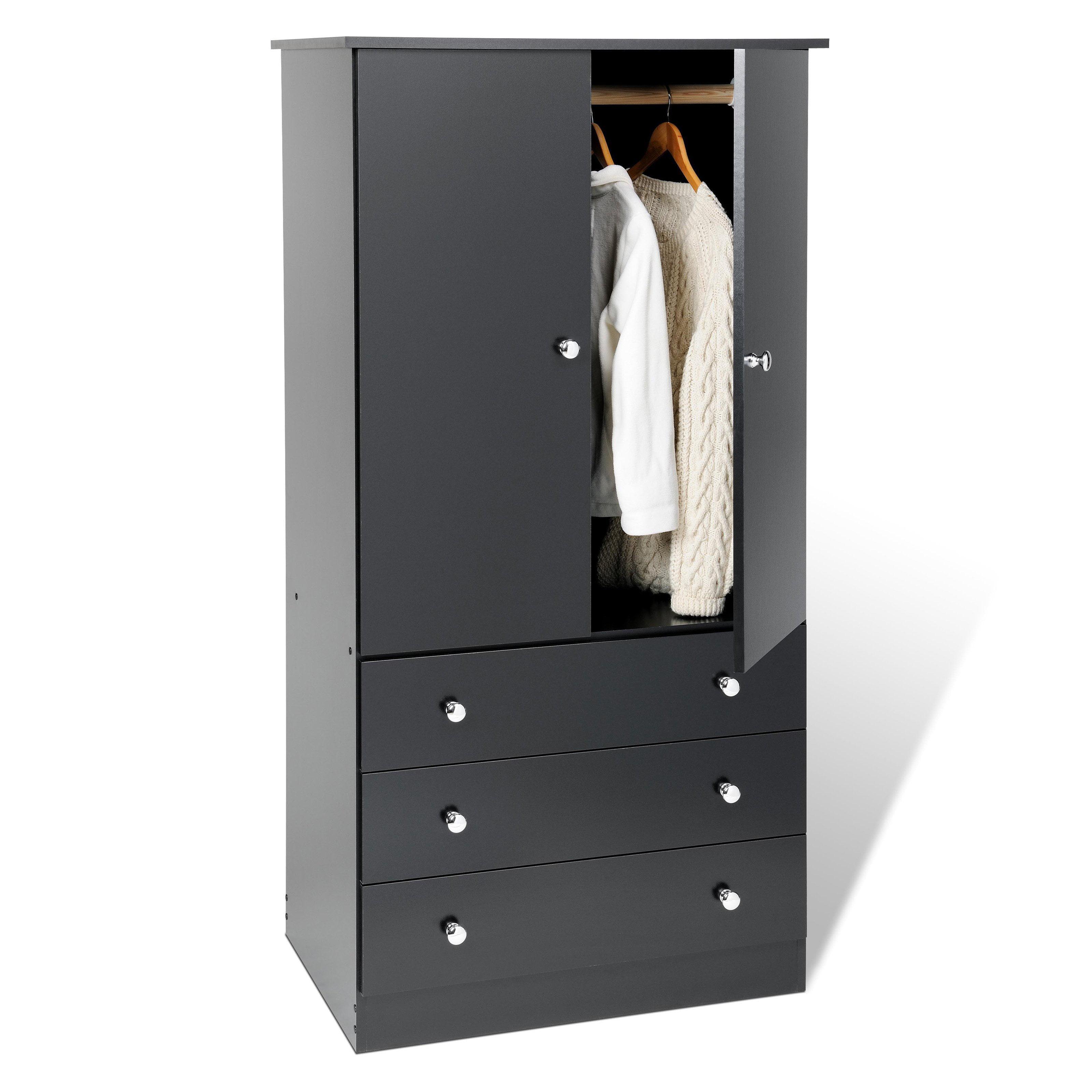 Prepac Edenvale Bedroom Wardrobe Armoire   Walmart.com