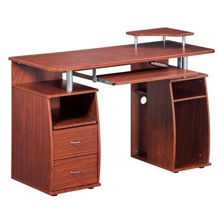 Mahogany Executive Desk (Urban Designs Executive Style Computer Desk -)