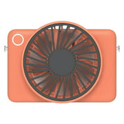 WREESH Rechargeable Handheld Usb Fan With Strong Wind Mini Mute Portable Electric Fan
