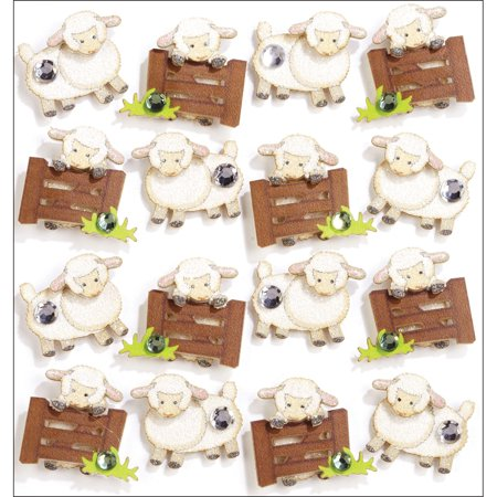 Jolee's Boutique Dimensional Stickers-Sheep (Jolee's Boutique Halloween)