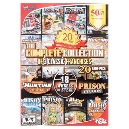 The Complete Collection of 3 Classic Franchises Games, PC, Valusoft