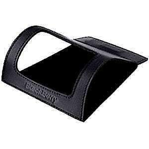 002 Rim Blackberry - RIM OEM ACC-11934-001 leather Desktop Stand for BlackBerry 8310/20/30 8300 Curve