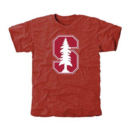 Stanford Cardinal Classic Primary Tri-Blend T-Shirt - Cardinal
