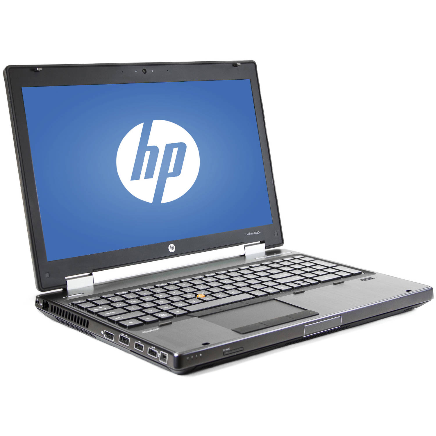 "Refurbished HP Silver 15.6"" 8560W Laptop PC with Intel Core i5-2540M Processor, 8GB Memory, 128GB SSD and Windows 7 Professional"