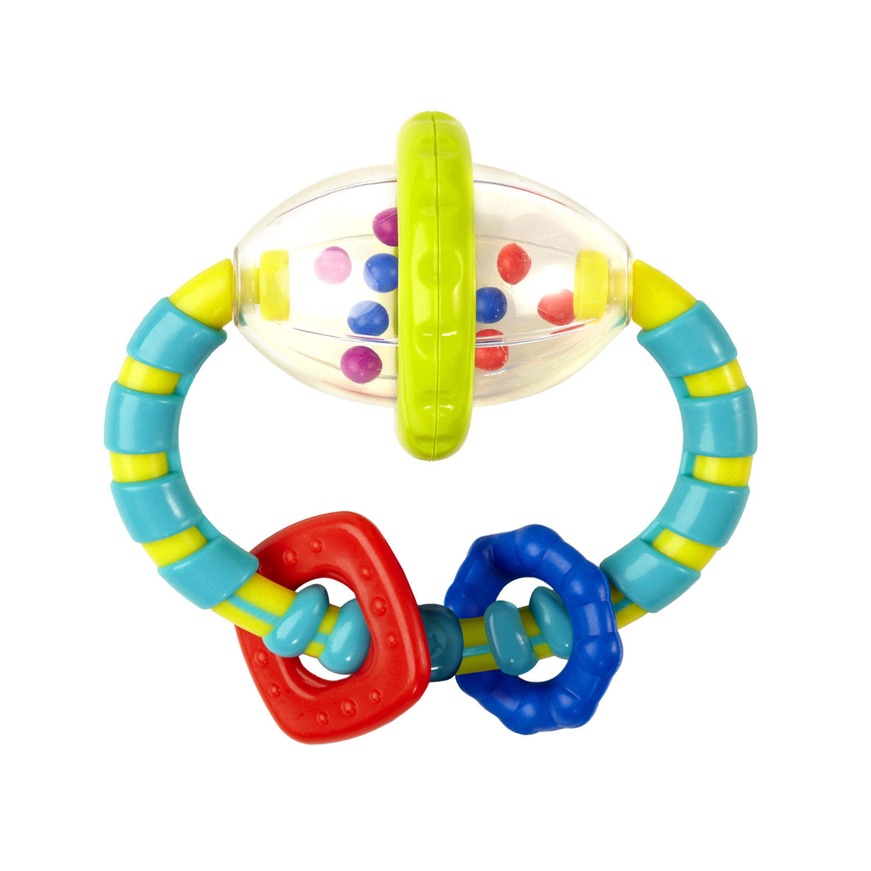 Bright Starts Grab & Spin Rattle Toy