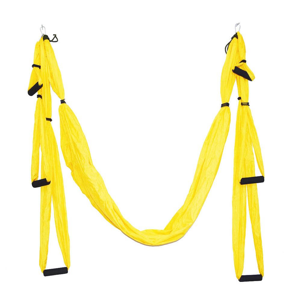 Enkeeo Aerial Yoga Swing - Ultra Strong Antigravity Yoga Hammock/Trapeze/Sling for Antigravity Yoga Inversion Exercises