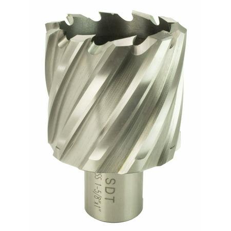"Steel Dragon Tools®  1-5/8"" x 1"" High Speed Steel Annular Cutter with 3/4"" Weldon Shank"