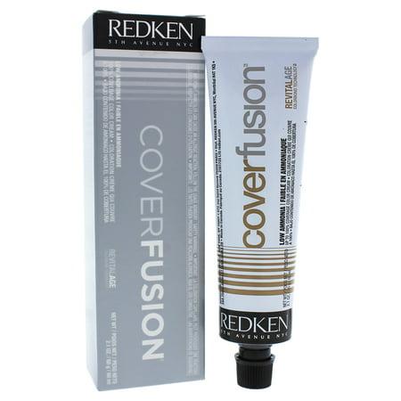 Redken Cover Fusion Low Ammonia - 8NA Natural Ash - 2.1 oz Hair Color