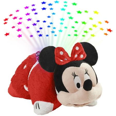 Pillow Pets Disney Rockin the Dots Minnie Mouse Sleeptime Lites - Rockin the Dots Minnie Mouse Plush Night Light