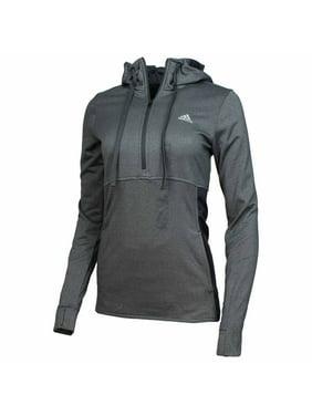 9da10cfac Product Image ADIDAS Womens Climawarm Quarter-Zip Transition Hoodie (Grey,  Small)