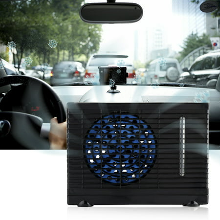 Mini Air Conditioner,HURRISE Portable 12V Car Truck Home Mini Air Conditioner Evaporative Water Cooler Cooling Fan