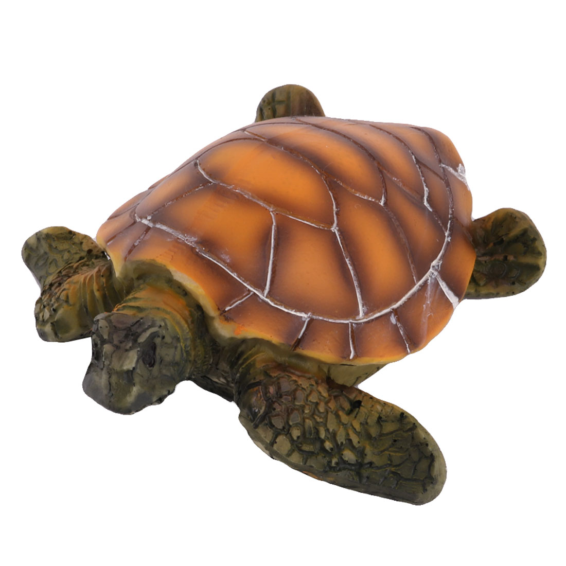Unique Bargains Aquarium Tank Resin Underwater Artificial Tortoise Landscape Decoration Ornament