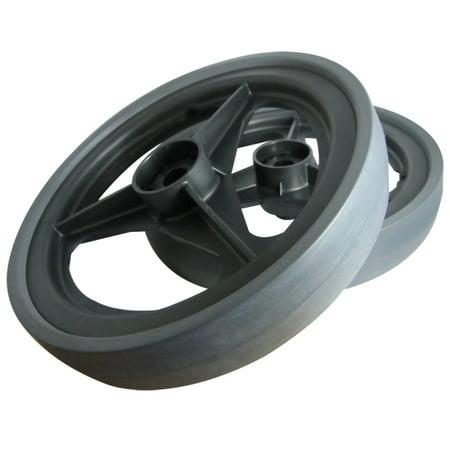 "Image of 12"" Rear Wheels For RoVac 3 Motor Vacuum, 1 Pair"