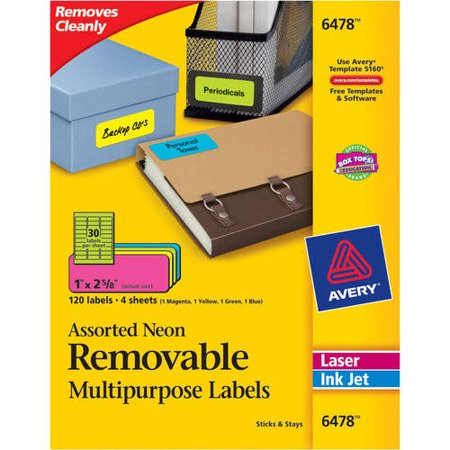 Avery Rectangular Labels For Laser And Inkjet Printers 1 X 2 58