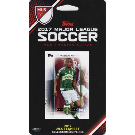 Portland Timbers 2017 Topps MLS Soccer Factory Sealed 10 Card Team Set with Diego Valeri and Jack McInerney plus