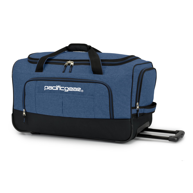 "Pacific Gear Keystone 25"" Rolling Duffel Bag, Navy"