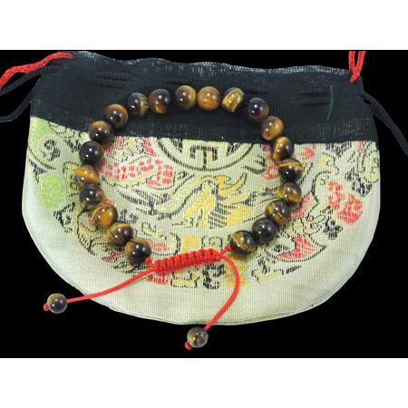 Tiger Eye Wrist mala Bracelet for (Wrist Mala Bracelet)