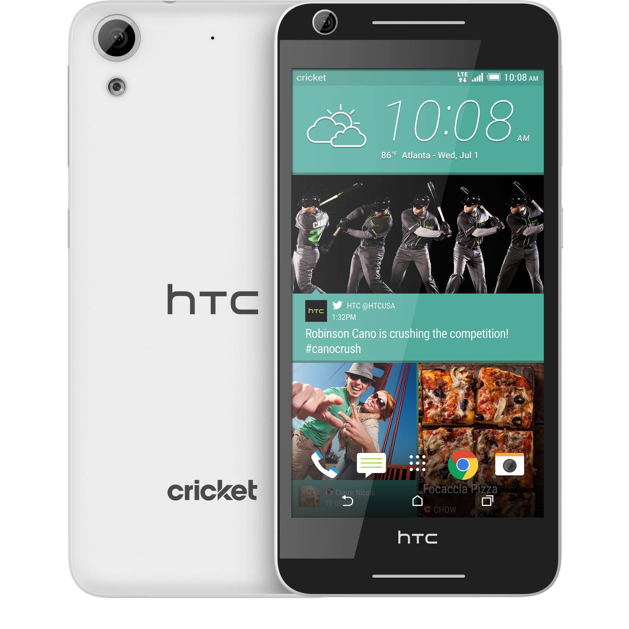 Cricket HTC Prepaid Desire 625 Smartphone