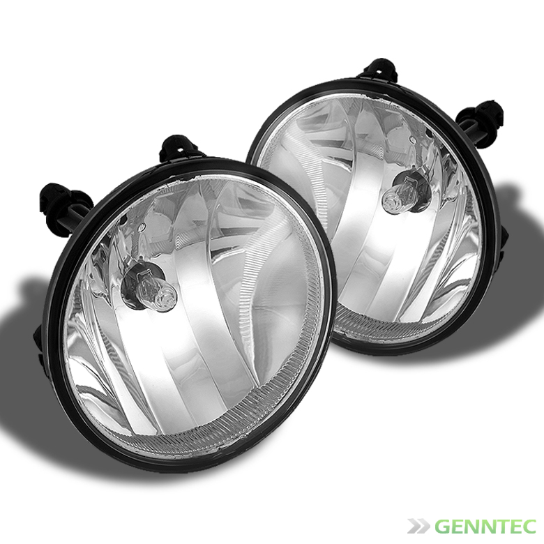 Suburban Tahoe Yukon Avalanche Acadia Mustang Bumper Fog Lights+Bulbs Pair Left+Right