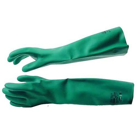 PIP Medium Elbow Length Nitrile Gloves, 18 L 81567