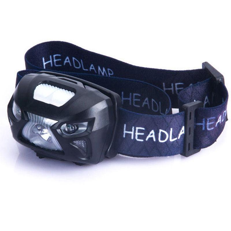 Headlamp LED Headlight Super Bright Premium USB Rechargeable Head Torch