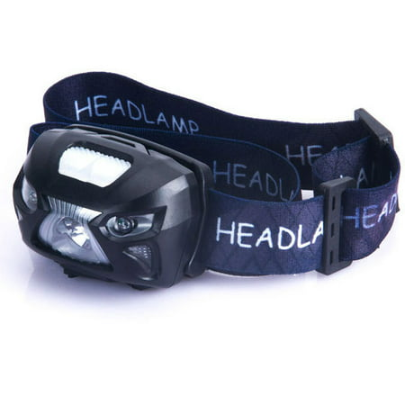 USB Headlamp Rechargeable Flashlight Sensor LED Headlamp - Waterproof & Comfortable - Perfect Headlamps for Running, Walking, Camping, Reading, Hiking, Kids, DIY & More, USB Cable Included, - Kids Headlamp