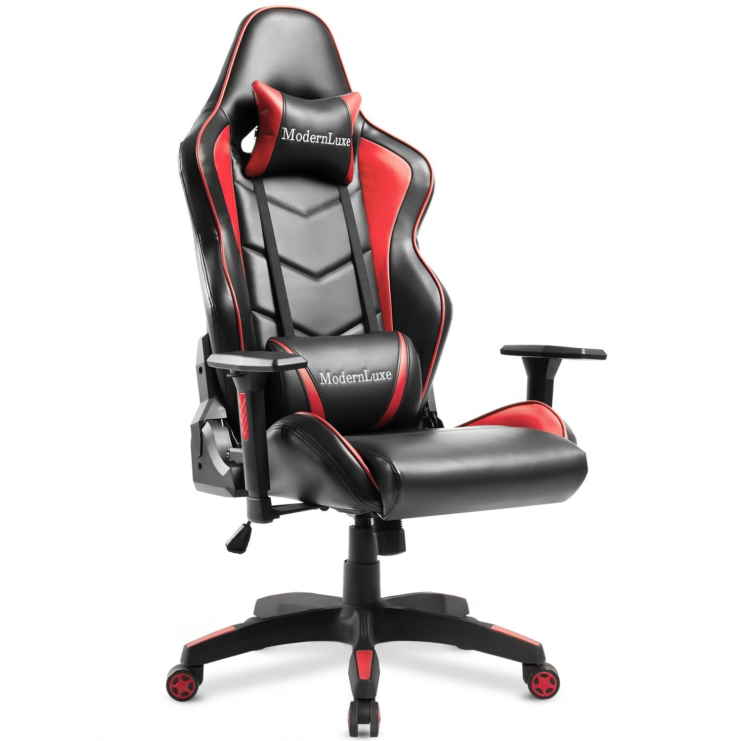 ModernLuxe Gaming Chair High Back Office Chair Racing Style Lumbar Support Ergonomic with Headrest