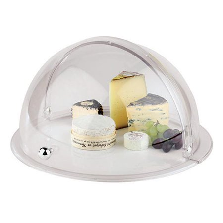 APS Acrylic Hinged Dome Cover for Round Platters, 15