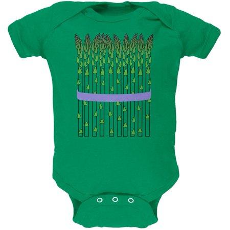 Halloween Vegetable Asparagus Costume Soft Baby One - Vegetable Dip For Halloween