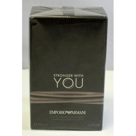 Giorgio Armani - Emporio Armani Stronger With You Eau De Toilette 3.4 oz Pour  Homme For Men - Walmart.com e57601533c7e5