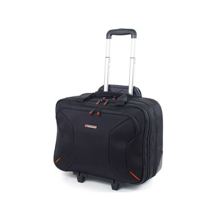 - Alpine Swiss Rolling Briefcase on Wheels Roller 17