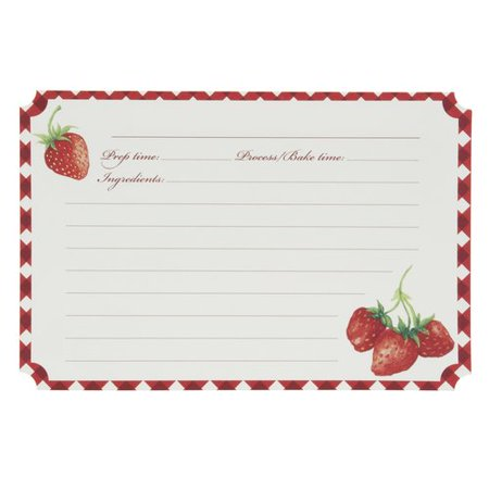 Better homes gardens recipe card strwby Better homes amp gardens recipes