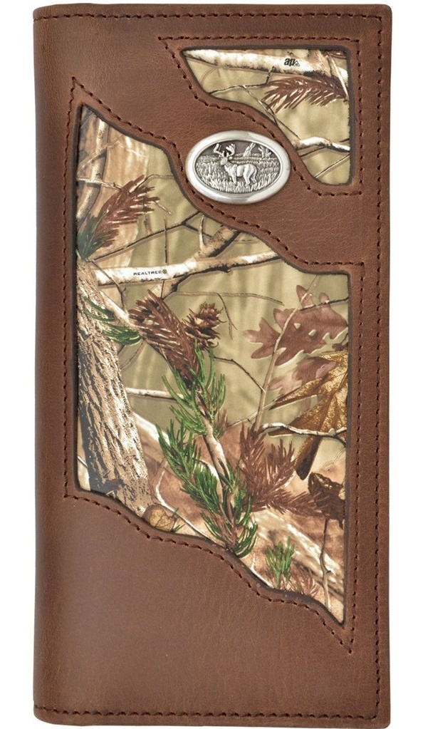 3 D Belt Company Accessories Mens Floral With Natural Edge Rodeo Wallet Tan
