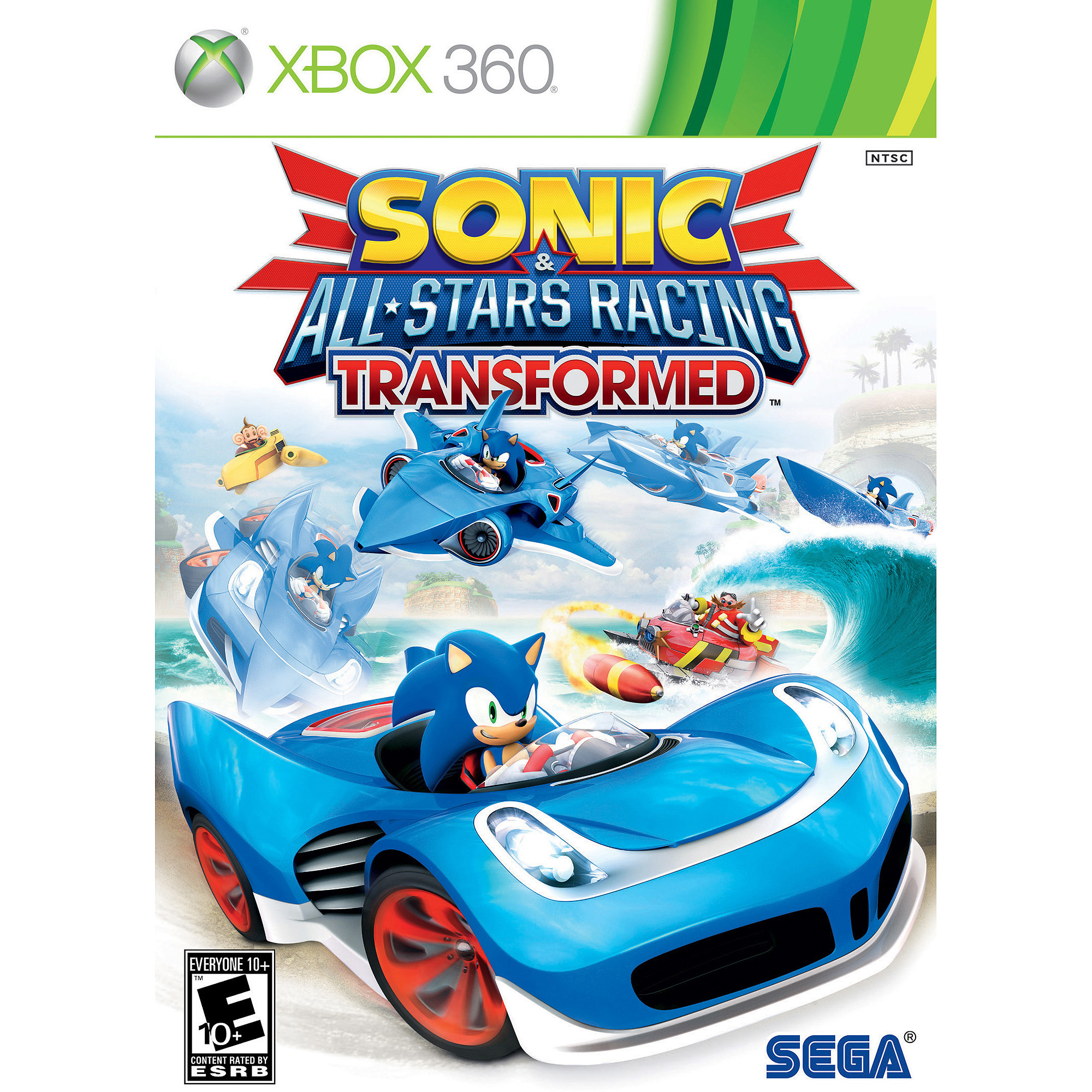 Sonic & All Stars Racing Transformed (Xbox 360) - Pre-Owned