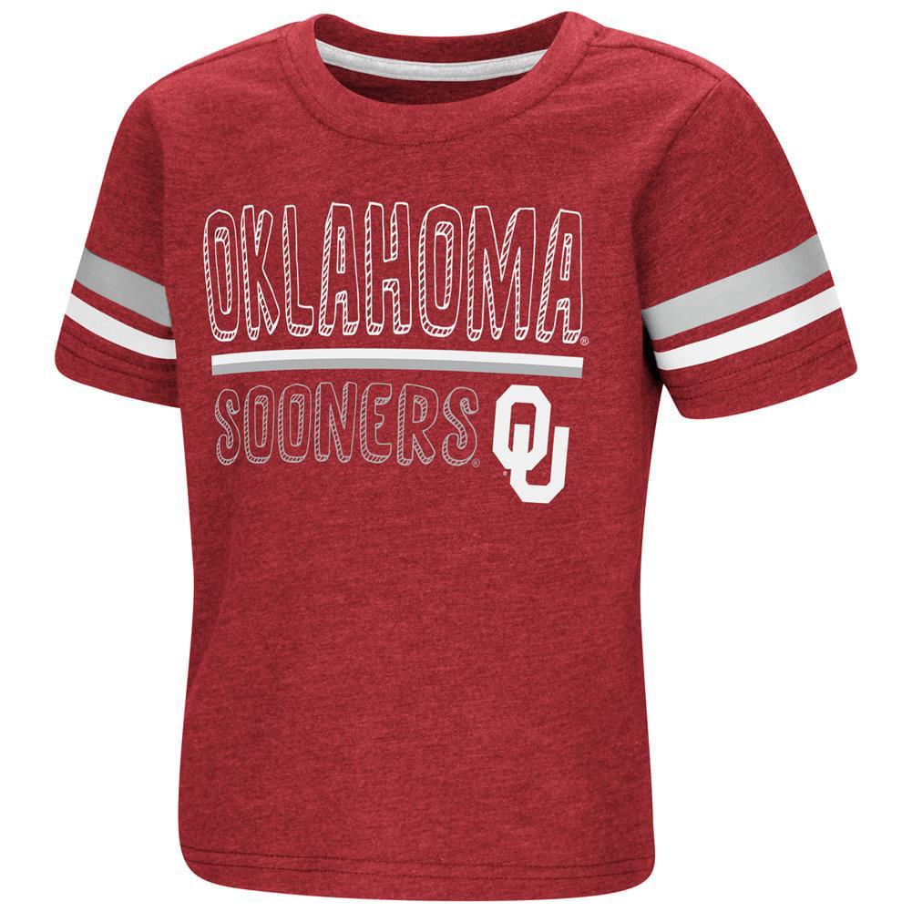 University of Oklahoma Sooners Toddler Boys Short Sleeve Graphic Tee