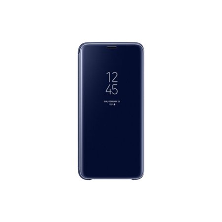 official photos 37676 37b74 Samsung S-View Flip Cover Clear for Samsung Galaxy S9 - Blue