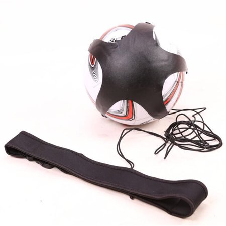 Soccer Ball Juggle Bag Auxiliary Circling Belt Kids Football Training Equipment Kick Solo Soccer Trainer Football Kick Ordinary version (no label)