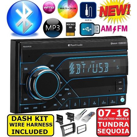 2007-2016 TOYOTA TUNDRA-SEQUOIA BLUETOOTH USB/MP3 CAR RADIO STEREO on