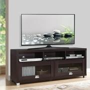 """Techni Mobili 58"""" Durbin TV Stand for TVs up to 70"""", Espresso"""