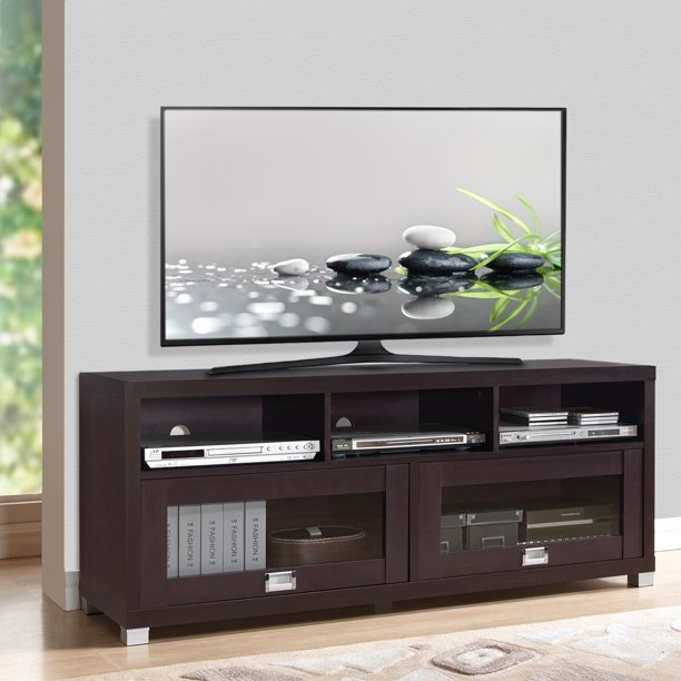 "Techni Mobili 58"" Durbin TV Stand for TVs up to 75"", Espresso"