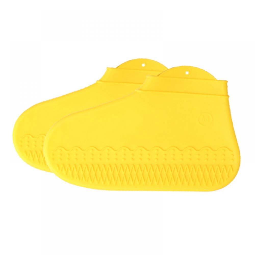 Waterproof Silicone Shoe Cover Outdoor Rainproof Hiking Skid-proof Shoe Cover TY