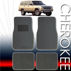 1998 1999 2000 2001 2002 2003 JEEP CHEROKEE FLOOR MATS ALL FEES INCLUDED!