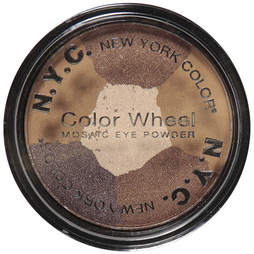 ***Discontinued***N.Y.C. New York Color Color Wheel Mosaic Eye Powder, Brown Sugar 820B