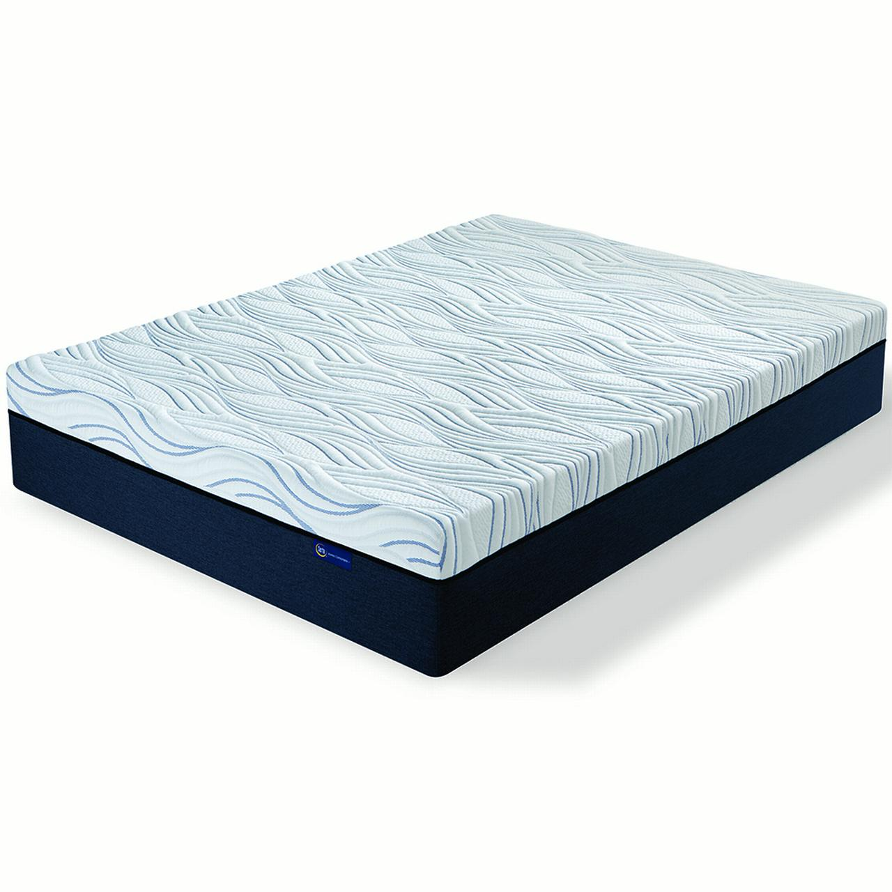 "Serta 771448-8060 12"" Perfect Sleeper Express Memory Foam Mattress in a Box - King"