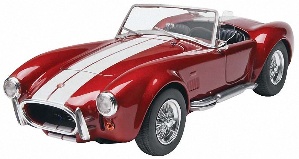 Monogram Shelby Cobra 427 Plastic Model Kit, Highly detailed plastic pieces molded in... by